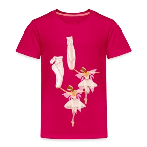 fairy ballet - Toddler Premium T-Shirt