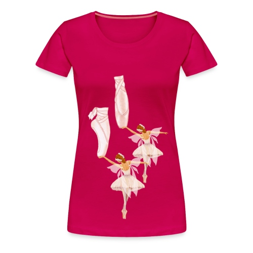 fairy ballet - Women's Premium T-Shirt