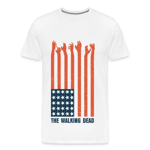 Walking Dead Men's T-Shirt - Men's Premium T-Shirt