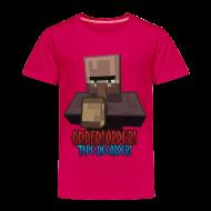 Baby & Toddler Shirts ~ Toddler Premium T-Shirt ~ Order! Order! Tape Recorder-Toddlers