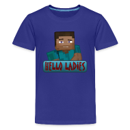 Kids' Shirts ~ Kids' Premium T-Shirt ~ Hello Ladies - Kids T-Shirt