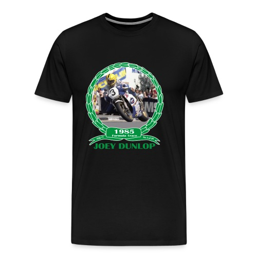 No 5 Joey Dunlop TT 1985 Formula 1  - Men's Premium T-Shirt