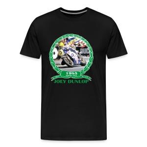 No 7 Joey Dunlop TT 1985 Senior  - Men's Premium T-Shirt