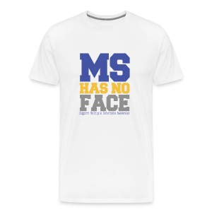 MS Has No Face - Men's Premium T-Shirt