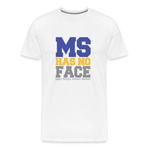 MS Has No Face - Men's Premium T-Shirt