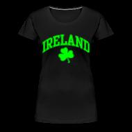 T-Shirts ~ Women's Premium T-Shirt ~ Neon Green Ireland Women's T-Shirt