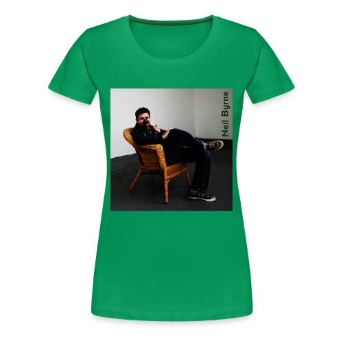 Ladies 3XL/4XL - Neil Byrne - Green Nose - Women's Premium T-Shirt