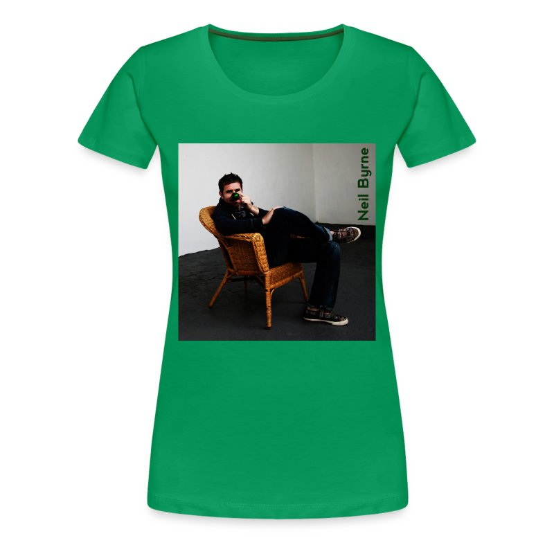 Ladies 3XL/4XL - Neil Byrne - Green Nose - Women's Premium T-Shirt