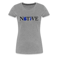 T-Shirts ~ Women's Premium T-Shirt ~ Native Michigander