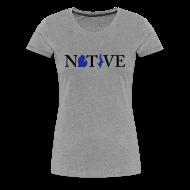 T-Shirts ~ Women's Premium T-Shirt ~ Native Michigander