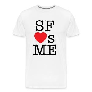 San Francisco Loves Me T-shirt - Men's Premium T-Shirt