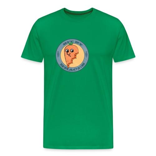 Carrot: bit by braces: men - Men's Premium T-Shirt