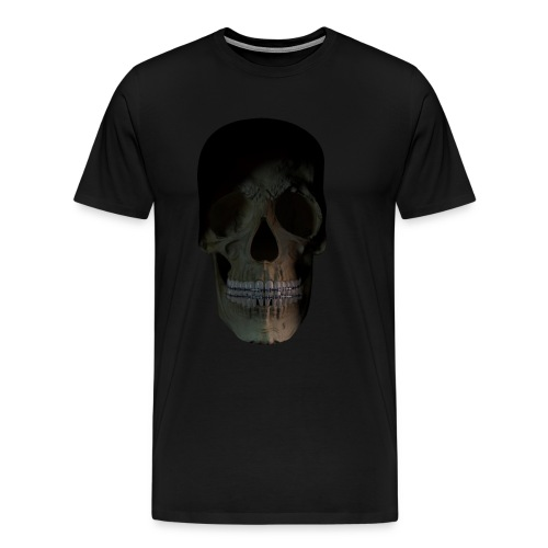 skull braces - shirt - Men's Premium T-Shirt