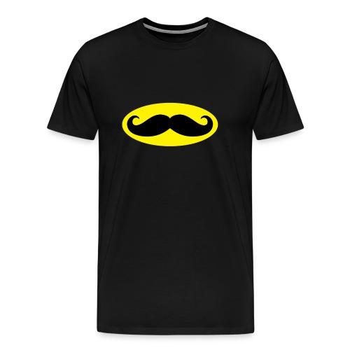 Bat Moustache t-shirt - Men's Premium T-Shirt