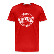 T-Shirts ~ Men's Premium T-Shirt ~ Gulf Shores Title Heavyweight T-Shirt