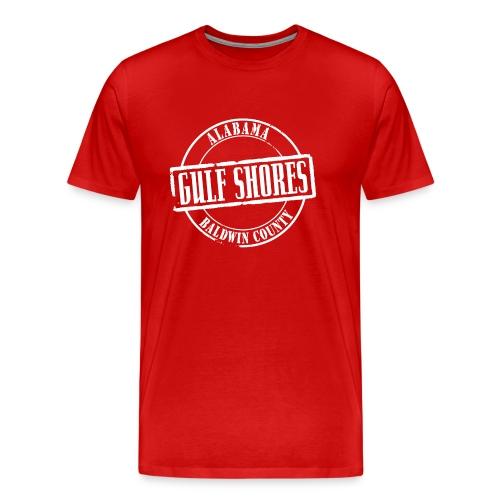 Gulf Shores Title Heavyweight T-Shirt - Men's Premium T-Shirt