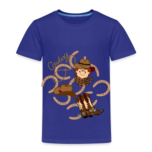 cowboy toddler tshirt - Toddler Premium T-Shirt