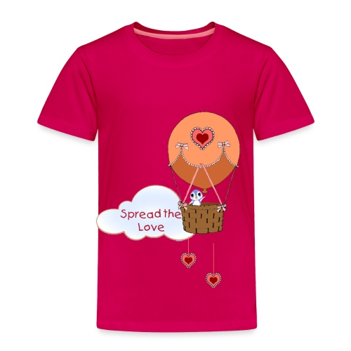 Spread the Love toddler t-shirt - Toddler Premium T-Shirt