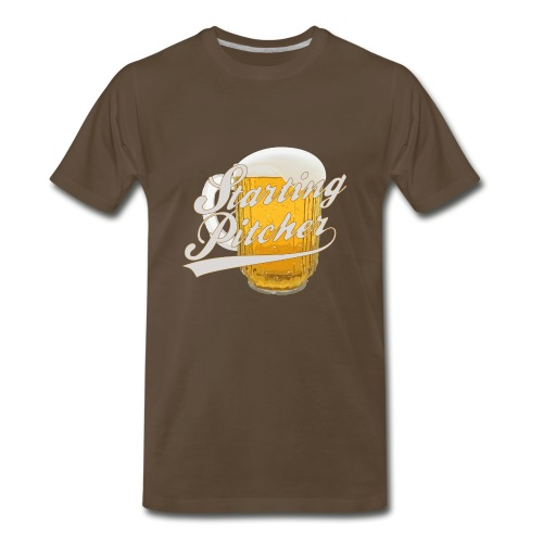 Starting Pitcher - Men's Premium T-Shirt