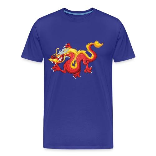 Chinese dragon - Men's Premium T-Shirt