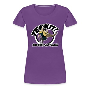 Ladies: Tekkit with Nilesy - Women's Premium T-Shirt