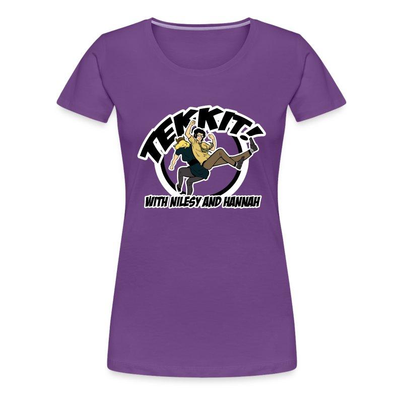 Ladies: Tekkit with Nilesy - Women's Premium T-Shirt