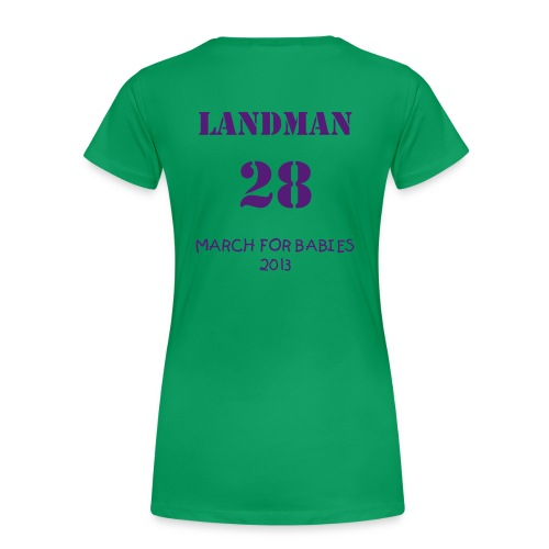 Team Little Landman Women's T-Shirts - Women's Premium T-Shirt