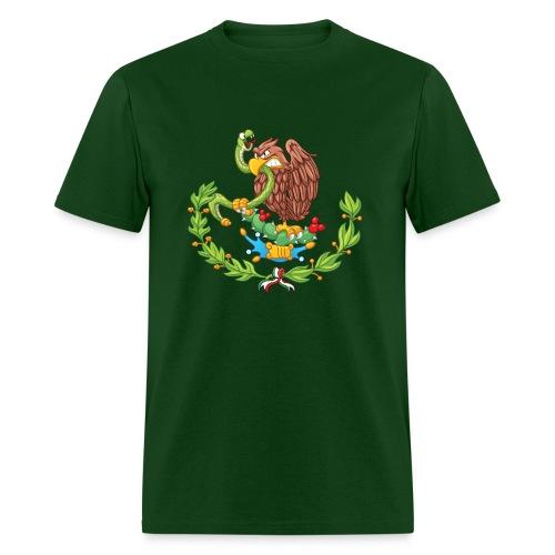Mexican coat of arms - Men's T-Shirt