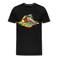 T-Shirts ~ Men's Premium T-Shirt ~ Melting Cube