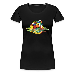 Melting Cube - Women's Premium T-Shirt