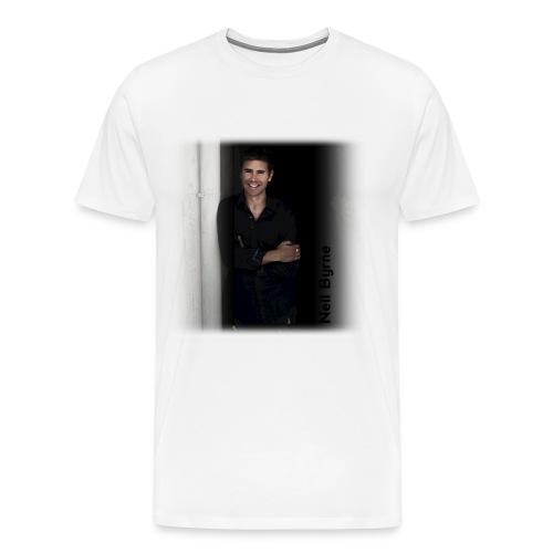 Mens 3XL/4XL - Neil Byrne - Black Shirt - Men's Premium T-Shirt