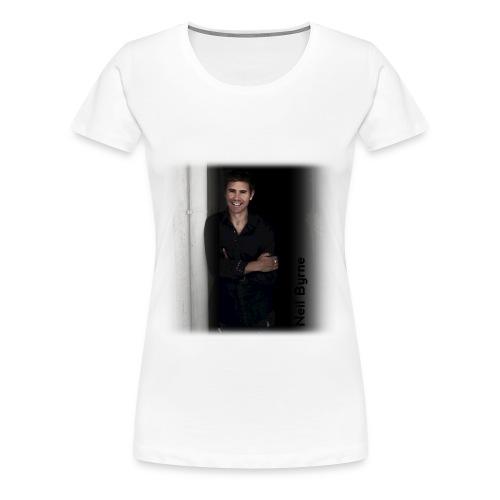 Ladies 3XL/4XL - Neil Byrne - Black Shirt - Women's Premium T-Shirt