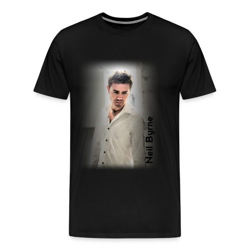 Mens - 3XL/4XL - Neil Byrne - White Shirt - Men's Premium T-Shirt