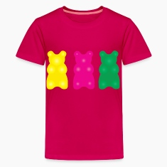 Candy Gummy Bear Pink T-Shirt