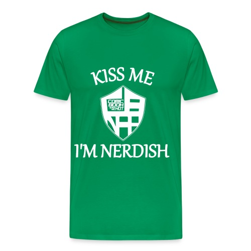 nerdish 4X... - Men's Premium T-Shirt