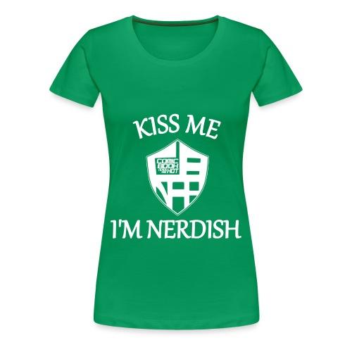 nerdish ladies 4X... - Women's Premium T-Shirt