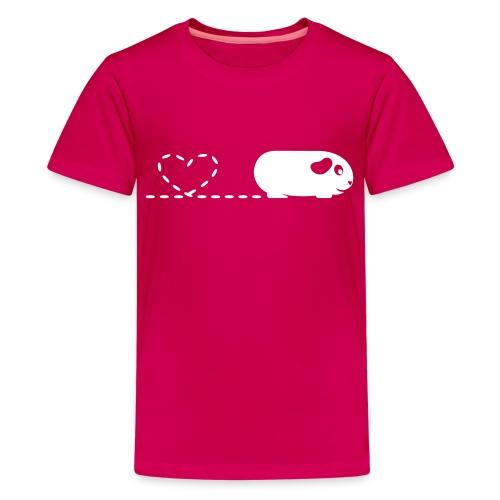 'Pooping Heart' Guinea Pig Children's T-Shirt - Kids' Premium T-Shirt