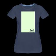 T-Shirts ~ Women's Premium T-Shirt ~ Glow Draw Box. [fadedxx]