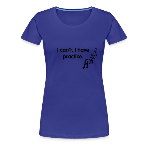 music_noten___f1 - Women's Premium T-Shirt