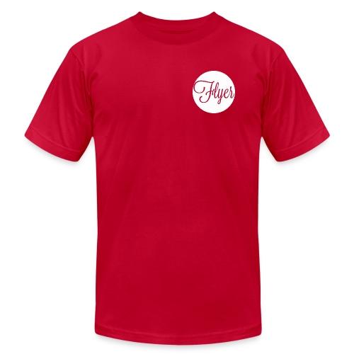 FLYER circle shirt - Men's Fine Jersey T-Shirt