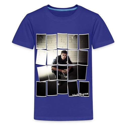 Kids T-Shirt - Neil Byrne - Cards Design - Kids' Premium T-Shirt