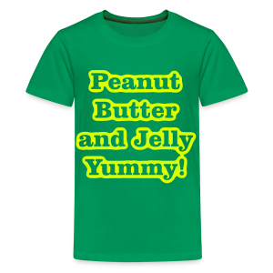 Peanut Butter and Jelly Yummy! - Kids' Premium T-Shirt