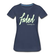 Women's T-Shirts ~ Women's Premium T-Shirt ~ Promo Tee.  [Glow in the dark]