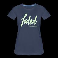 Women's T-Shirts ~ Women's Premium T-Shirt ~ Promo Tee.  [Glow in the dark]