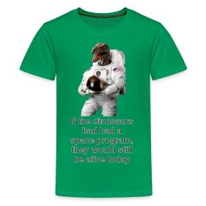 spacedino2013ac - Kids' Premium T-Shirt