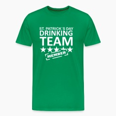 st. patrick´s day drinking team member T-Shirts