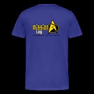 T-Shirts ~ Men's Premium T-Shirt ~ Mission Log Science Shirt