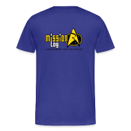 T-Shirts ~ Men's Premium T-Shirt ~ Mission Log Science Shirt