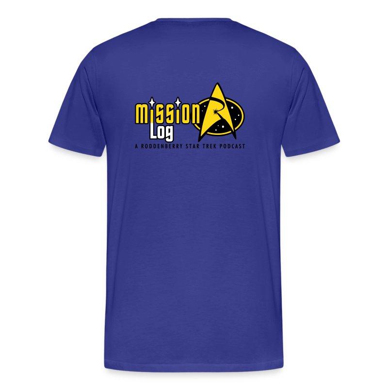 Mission Log Science Shirt - Men's Premium T-Shirt