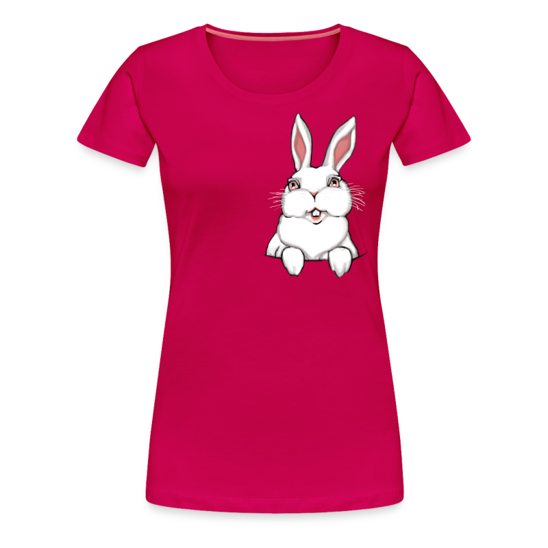 Women's Easter T-shirts Plus Size Easter Bunny Shirt Cute Rabbit Shirts - Women's Premium T-Shirt